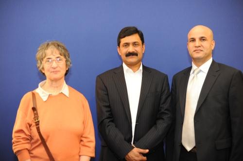 Huguette Chomski Magnis, Ziauddin Yousafzai, Fazal ur Rehman Afridi